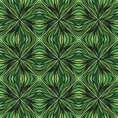 Had drawn linear green vector pattern — Stock Vector