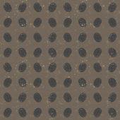 Seamless pattern of fingerprints, gray texture — Stock Vector