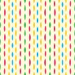 Royalty-Free Stock Vector Image: Vintage pattern fabric, colorful strokes and lines