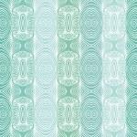 Emerald green vector texture with delicate lines — Stock Vector