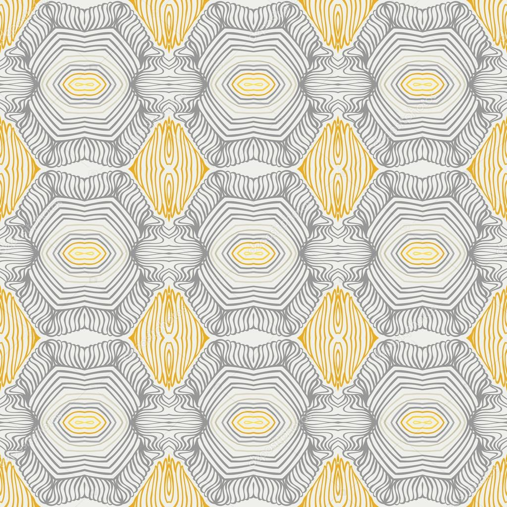 Vintage pattern, fifties sixties wallpaper design — Stock Vector ...