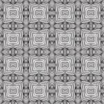 Geometric sixties wallpaper design — Stock Vector