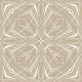 Beige geometric abstract thin pattern — Stock Vector