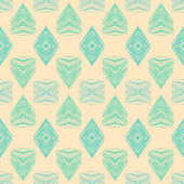 1930s geometric art deco pattern — Stock Vector
