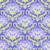 Vintage floral damask pattern — Stock Vector