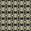 Seamless pattern in art deco style — Stockvectorbeeld