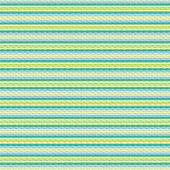 Aqua blue geometric striped hipster pattern — Stock Vector