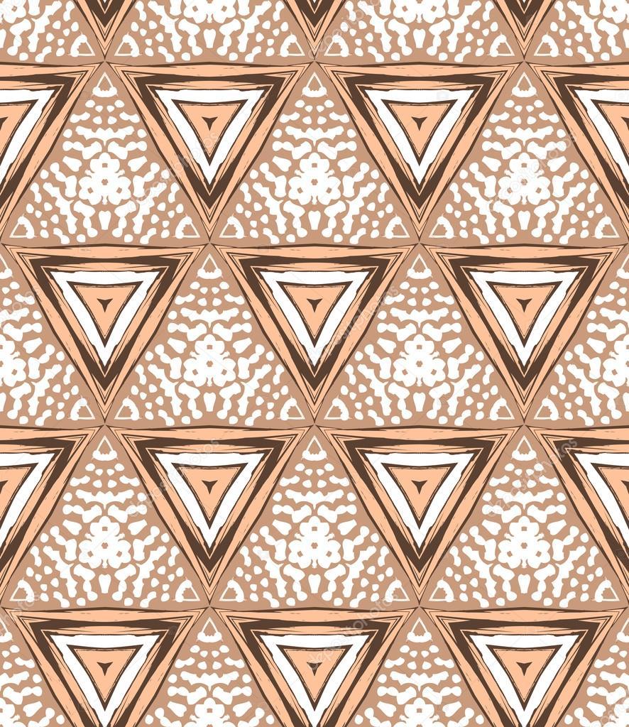 Années 1930 art deco motif géométrique avec triangles ...