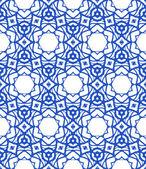 Muster mit mediterranen & marokkanischen Motiven — Stockvektor