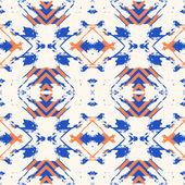 Ikat pattern — Stock Vector
