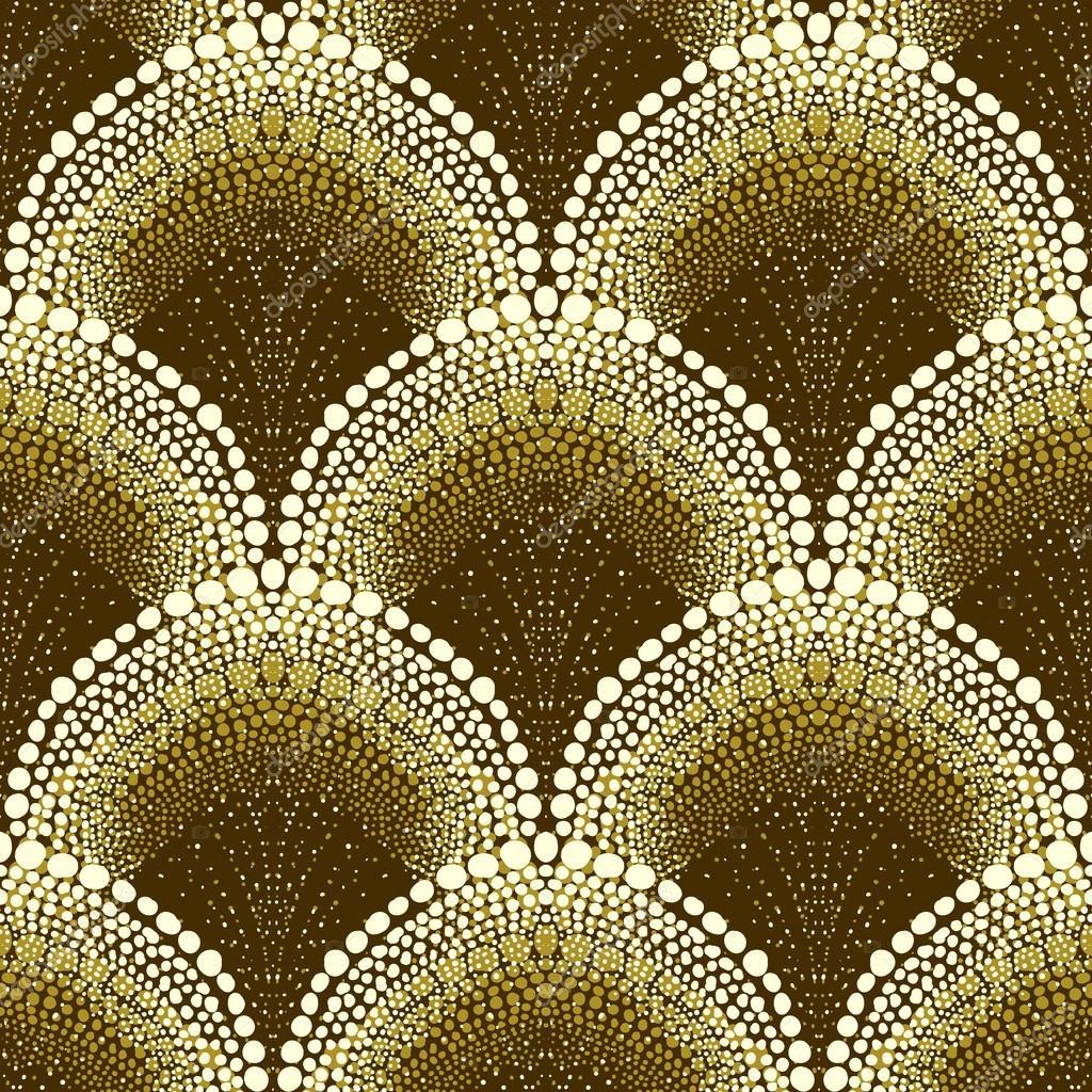 motifs g om triques en pointill s dans le style art d co image vectorielle tukkki 26797805. Black Bedroom Furniture Sets. Home Design Ideas