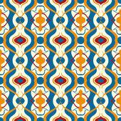 Multicolor wektor wzór z motywem arabskiej. — Wektor stockowy