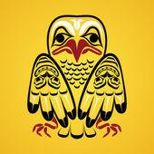 Vector illustration of an eagle. — Stock Vector