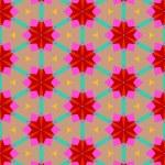 Multicolor geometric pattern in bright color. — Stock Vector