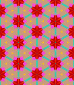 Multicolor geometrische patroon in felle kleur. — Stockvector