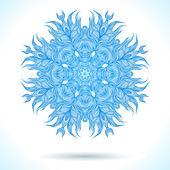 Modern mandala or snowflake design — Wektor stockowy