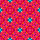Patrón geométrico multicolor en color brillante. — Vector de stock