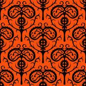 Suzani, vector ethnic pattern with Kazakh motifs — Stock Vector