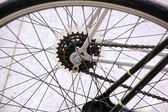 Bicycle part close up — Foto Stock