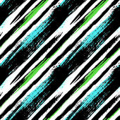 Multicolor striped pattern with diagonal lines — Vector de stock