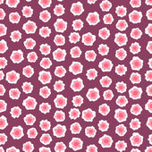 Ditsy floral pattern with small pink flowers — Stock vektor