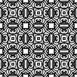 Vintage vector art deco pattern in black and white — Stock Vector #42355283