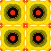 Suzani, vector multicolor ethnic pattern — Stock Vector