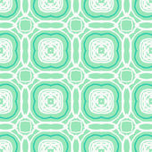 Vector mint green geometric art deco pattern — Stock Vector