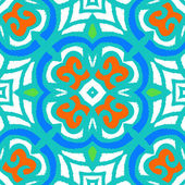 Vector multicolor ethnic pattern — Wektor stockowy