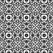 Vector art deco pattern in black and white — Stock Vector