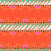 Grunge hand painted vector seamless pattern — Stock Vector
