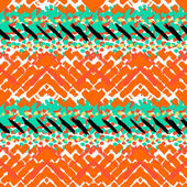 Grunge hand painted vector seamless pattern — Vecteur