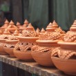 Stock Photo: Thai traditional clay pottery in ko Kret island, thailand