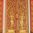 Door of chapel  in Bangkok - Stok fotoğraf