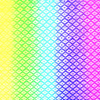 Stock Photo: Rainbow polyester fabric texture