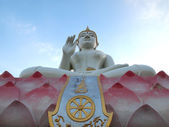The Beautiful Statue Buddha at Temple Thailand — Stock Photo