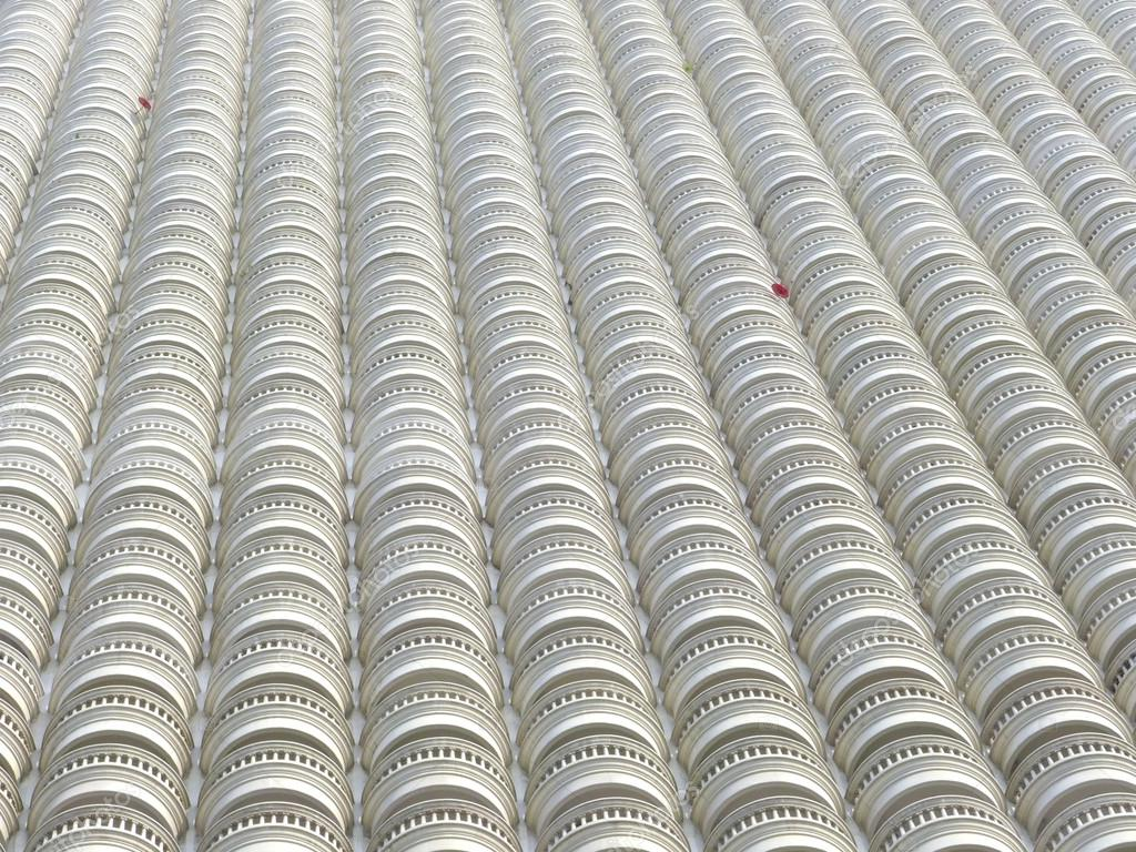 Géant immeuble de plusieurs appartements arrière plan ou texture image