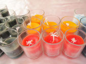 Colorful candles — Stockfoto
