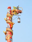 Chinese dragon in the sky — Stock Photo