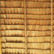Close up straw background. Texture of thatch roof — Stock Photo #30920745