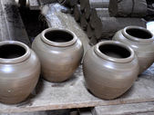 Clay pots — Stock fotografie