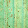 Rusty corrugated iron metal texture — Stock Photo