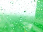 Su Close-Up cam yüzey üzerinde arka plan olarak bırakır — Stok fotoğraf