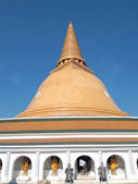 Phra Pathom Chedi, pagoda, the landmark of Nakhon Pathom Province,Thailand — Stock Photo