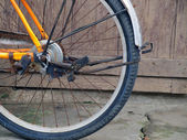 Details of bicycle wheel  — Stock Photo