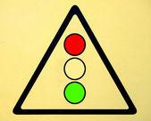 Obraz różnych znaków drogowych — Zdjęcie stockowe