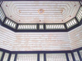 Detail of the gable of Thai style roof — Stock Photo