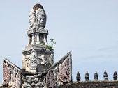 SAMUT PRAKAN, THAILAND - OCTOBER 16 : Khmer arts in the Ancient City on October 16, 2013 in Samut Prakan, Thailand.  — Stock Photo