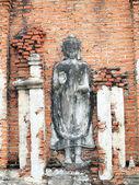 SAMUT PRAKAN, THAILAND - OCTOBER 16 : Buddha statue in the Ancient City on October 16, 2013 in Samut Prakan, Thailand. — Photo