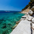 Wonderful Adriatic Sea with Deep Blue Water near Split, Croatia — Stock Photo #12050526